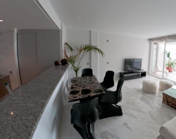 Mooi luxe appartement in Ibiza Marina Botafoch te huur