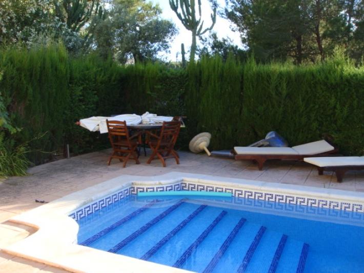 Rustieke villa met 5 slaapkamers te huur in Ibiza