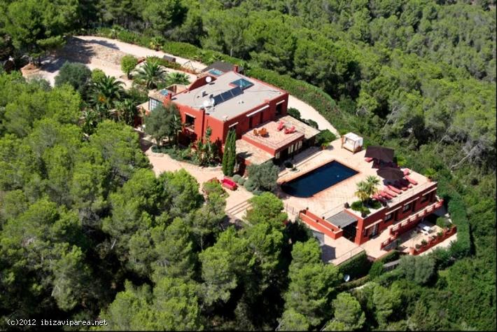 Zeer luxe villa in Ibiza te huur en te koop fantastisch uitzicht