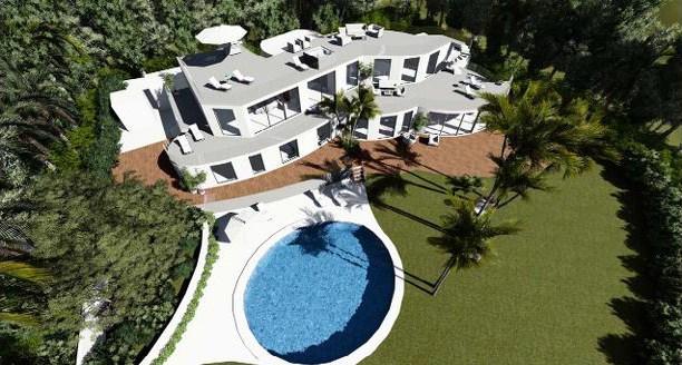 Renovatie van een luxe villa